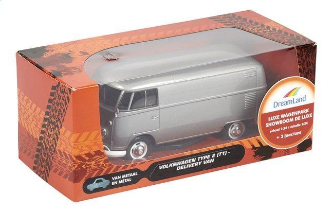 Afbeelding van DreamLand auto Luxe wagenpark Volkswagen Delivery Van Type 2 (T1) grijs from ColliShop