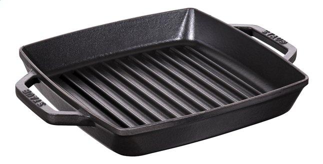 Image pour Staub Poêle-gril noir 28 x 28 cm à partir de ColliShop