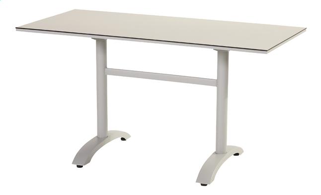 Image pour Hartman table de jardin Sophie Bistro gris clair L 138 x Lg 68 cm à partir de ColliShop