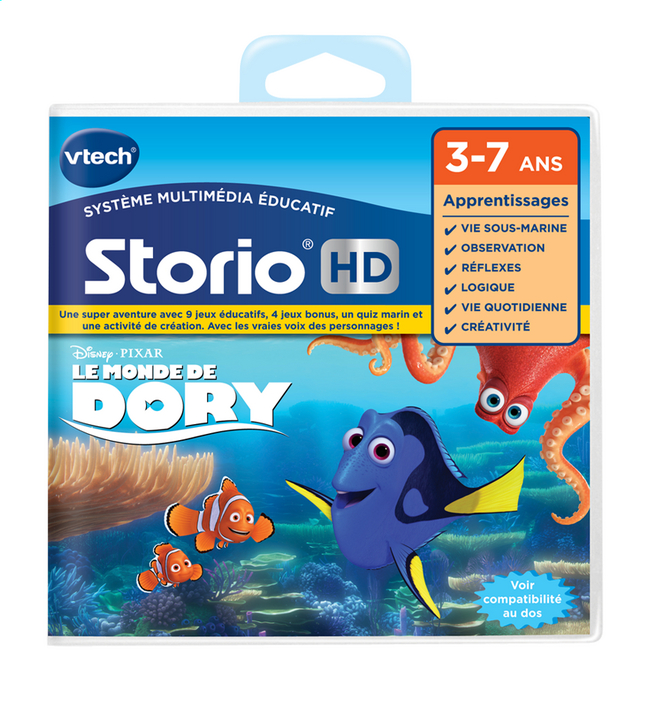 Afbeelding van VTech Spel Storio Max - Finding Dory FR from ColliShop
