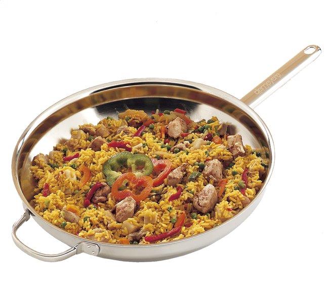 Image pour Demeyere wok en inox 36 cm à partir de ColliShop