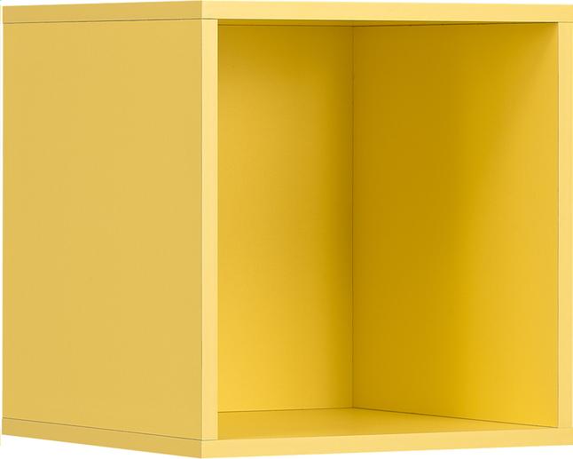 Image pour Cube pour garde-robe Basil jaune à partir de ColliShop