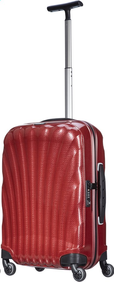 Afbeelding van Samsonite Harde reistrolley Cosmolite Spinner red from ColliShop
