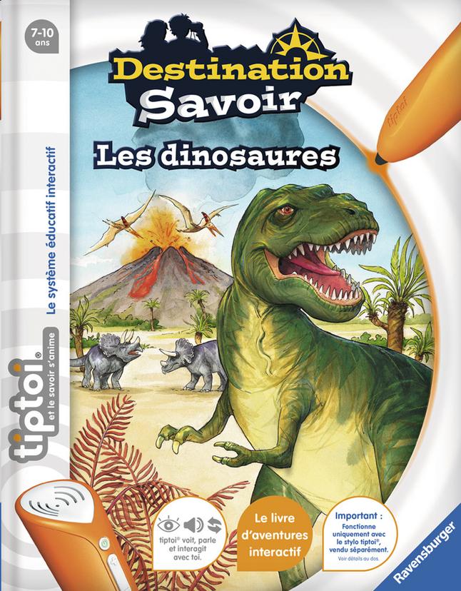 Image pour Ravensburger Tiptoi Destination Savoir : Les dinosaures à partir de ColliShop