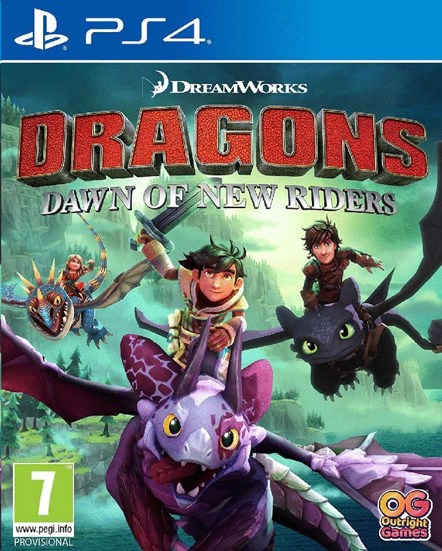 Image pour PS4 Dragons Dawn of New Riders FR/ANG à partir de ColliShop