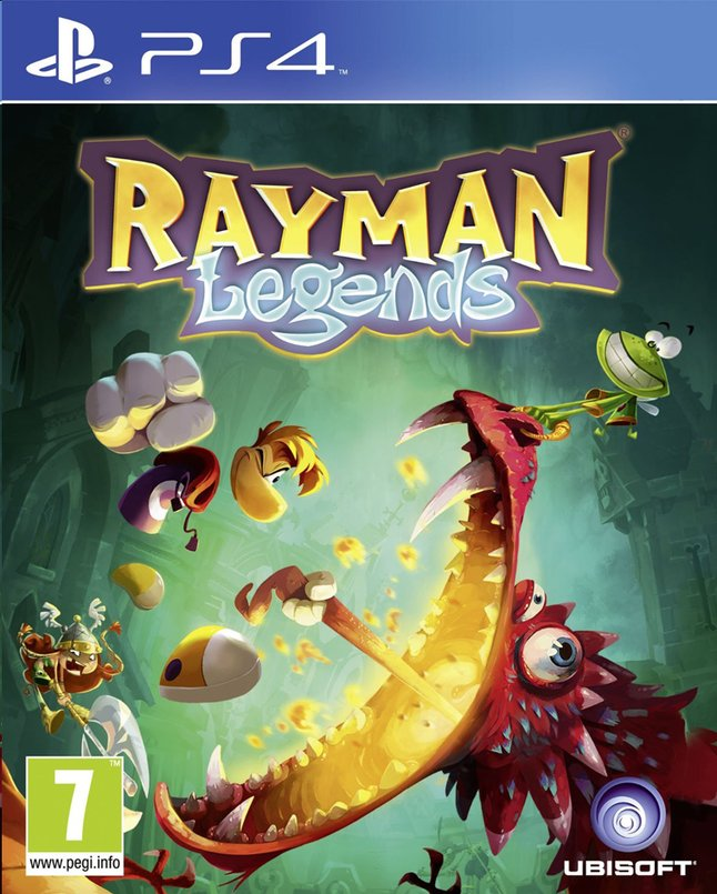Afbeelding van PS4 Rayman Legends ENG/FR from ColliShop