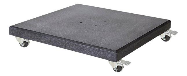 Platinum pied de parasol Modena en granit 90 kg
