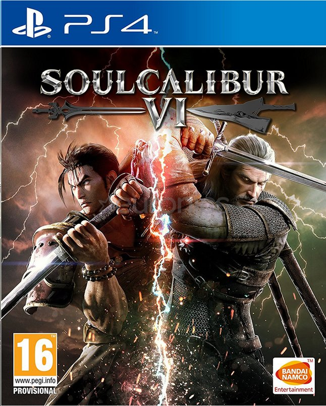 Image pour PS4 Soulcalibur VI ANG à partir de ColliShop