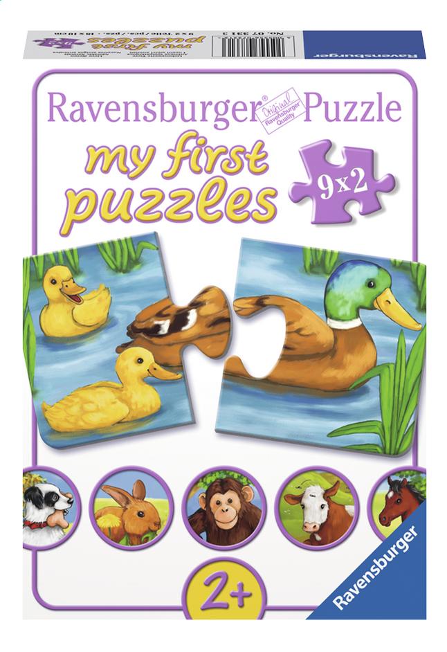 Afbeelding van Ravensburger puzzelbox Lieve dieren from ColliShop