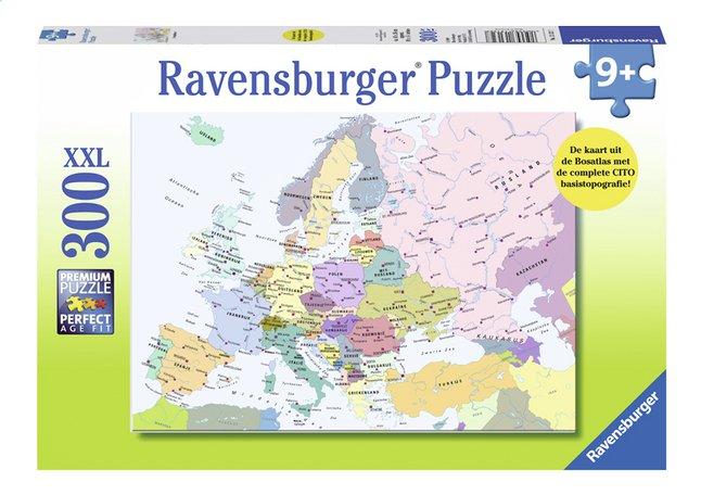 Afbeelding van Ravensburger puzzel Kaart Europa from ColliShop