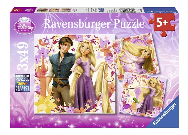 Afbeelding van Ravensburger 3-in-1 puzzel Rapunzel from ColliShop
