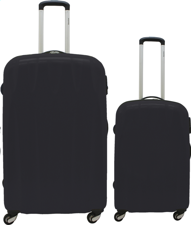 Image pour Saxoline Set de valises rigides Trendy Spinner anthracite à partir de ColliShop