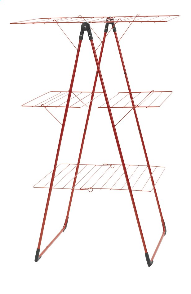Afbeelding van Brabantia Droogtoren met 3 droogvlakken passion red from ColliShop