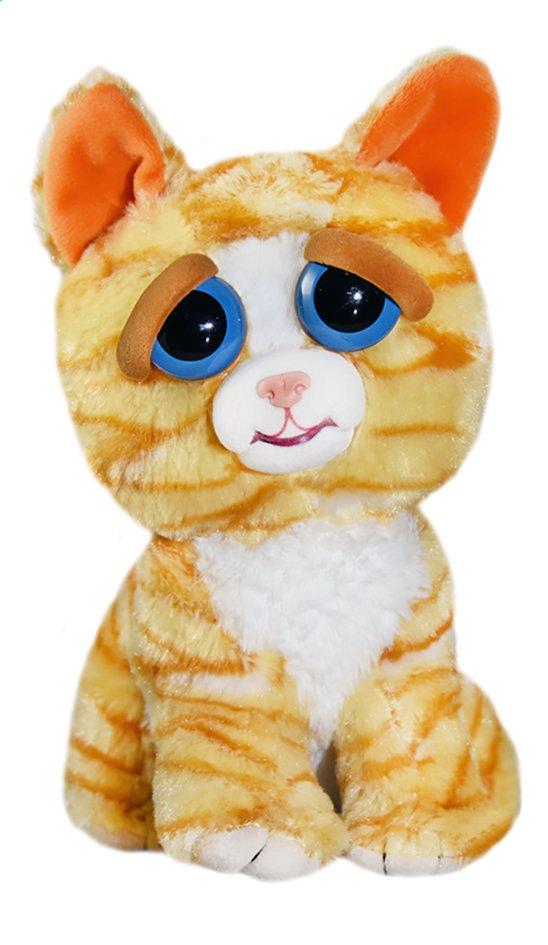Peluche Feisty Pets Orange Cat 20 cm