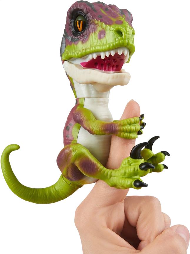Afbeelding van WowWee interactieve figuur Fingerlings Untamed Velociraptor Stealth from ColliShop