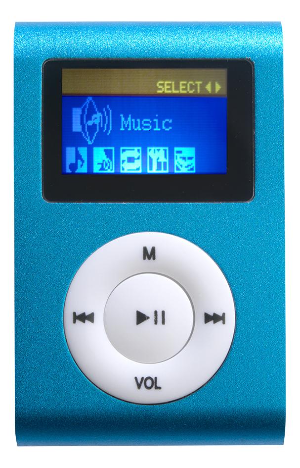 Afbeelding van Difrnce mp3-speler MP855 4 GB blauw from ColliShop