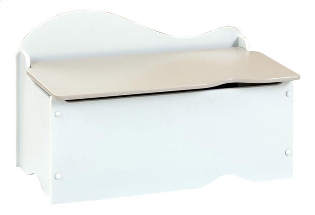 Afbeelding van Speelgoedkoffer wit met grijs deksel from ColliShop