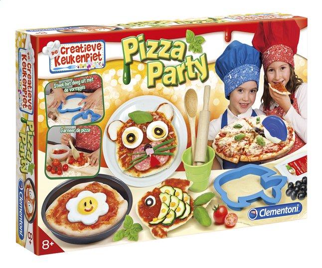 Afbeelding van Clementoni De creatieve keukenpiet: Pizza Party from ColliShop