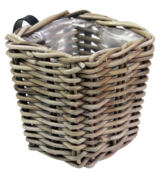 Image pour Jardinière de balcon panier en rotin carré à partir de ColliShop