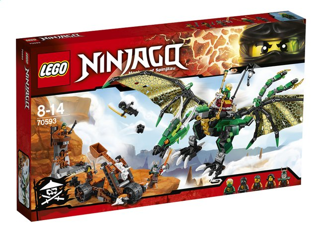 Afbeelding van LEGO Ninjago 70593 De groene NRG draak from ColliShop