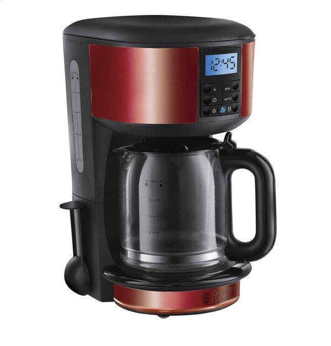 Afbeelding van Russell Hobbs koffiezetapparaat Legacy red from ColliShop