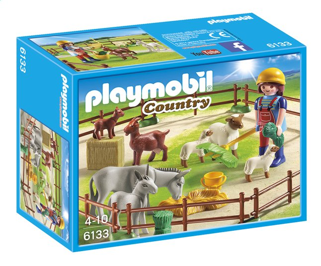 Afbeelding van Playmobil Country 6133 Dierenweide from ColliShop