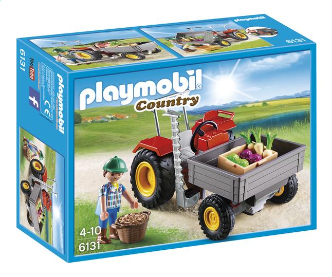 Afbeelding van Playmobil Country 6131 Tractor met laadbak from ColliShop