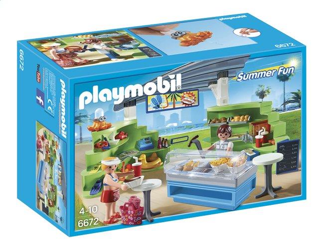 Image pour Playmobil Summer Fun 6672 Espace boutique et fast-food à partir de ColliShop