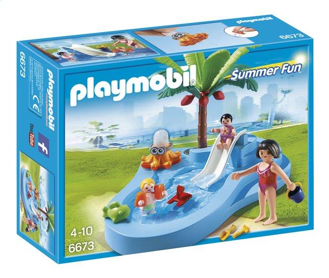 Afbeelding van Playmobil Summer Fun 6673 Kinderbad met glijbaan from ColliShop