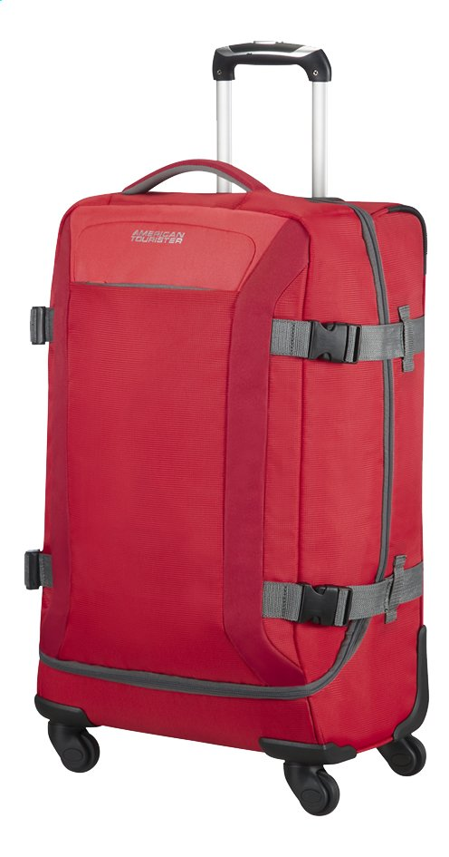 Afbeelding van American Tourister Reistas op wieltjes Road Quest Spinner solid red 67 cm from ColliShop