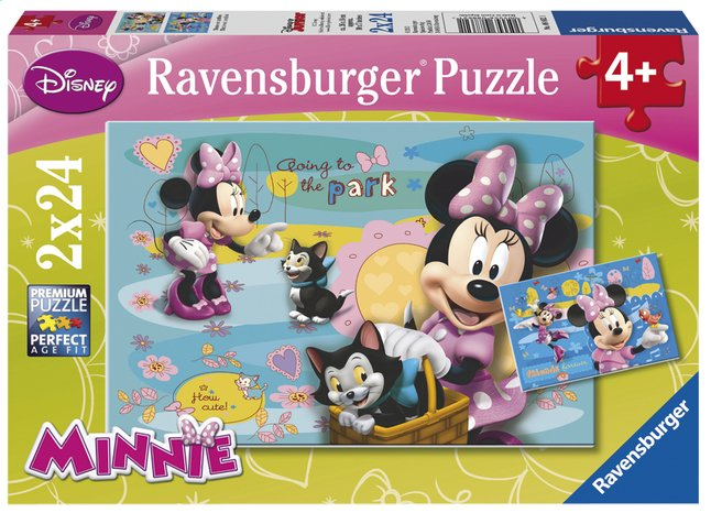 Afbeelding van Ravensburger puzzel 2-in-1 Minnie Mouse from ColliShop