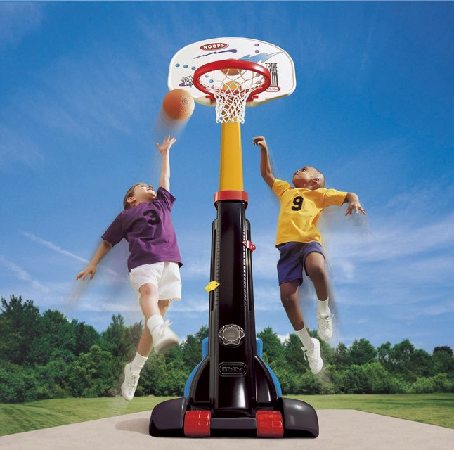 Afbeelding van Little Tikes basketbalset Easy Store from ColliShop