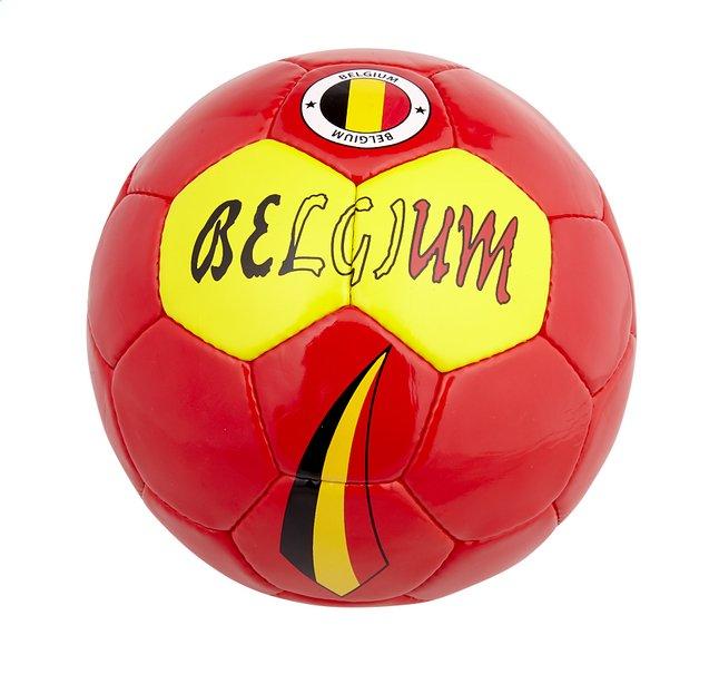Image pour Ballon de football Belgique rouge taille 5 à partir de ColliShop