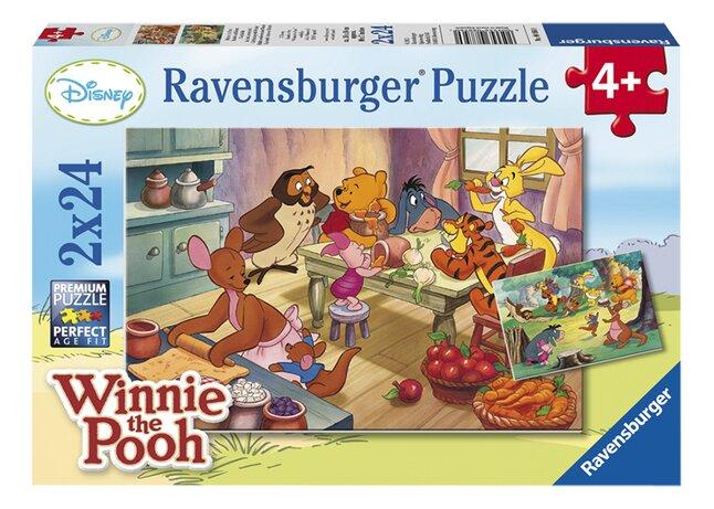 Afbeelding van Ravensburger puzzel 2-in-1 Bakken en feesten met Winnie from ColliShop