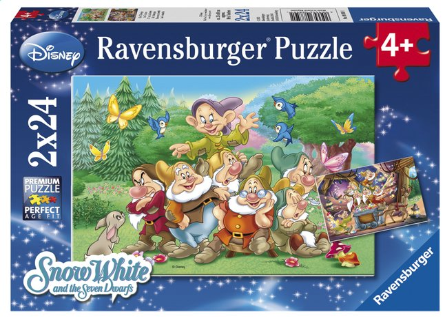 Image pour Ravensburger puzzle 2 en 1 Les 7 nains à partir de ColliShop