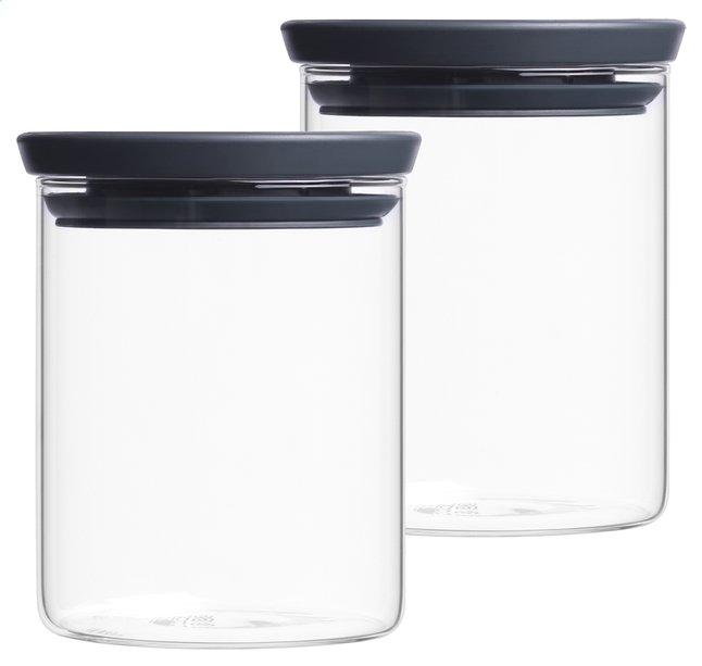 Image pour Brabantia 2 boîtes à provisions 0,6 l à partir de ColliShop