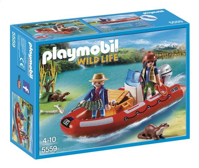 Afbeelding van Playmobil Wild Life 5559 Rubberboot met stropers from ColliShop