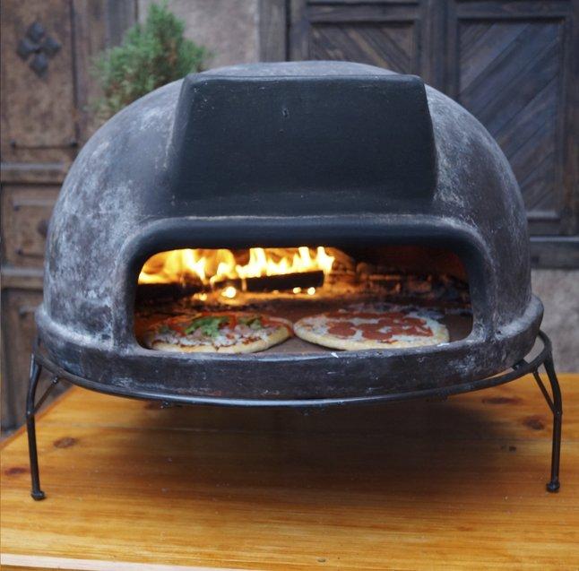 Image pour Barbecue à bois et four à pizza Toscan brun à partir de ColliShop