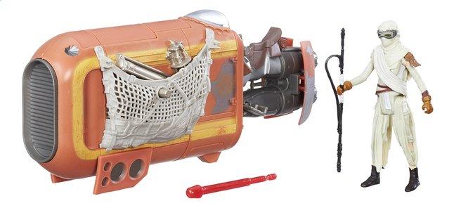 Afbeelding van Star Wars ruimteschip Speeder met Rey from ColliShop