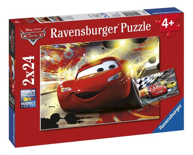 Image pour Ravensburger puzzle 2 en 1 Cars en scène à partir de ColliShop