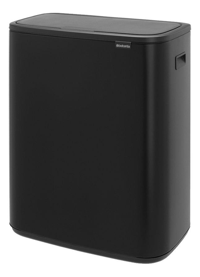 Image pour Brabantia Poubelle Touch Bin Bo matt black 2 x 30 l à partir de ColliShop
