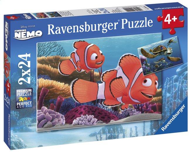 Image pour Ravensburger puzzle 2 en 1 Les aventures de Némo à partir de ColliShop