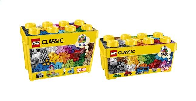 Image pour LEGO Classic 10696 Creative Brick Box Medium + 10698 Creative Brick Box Large à partir de ColliShop