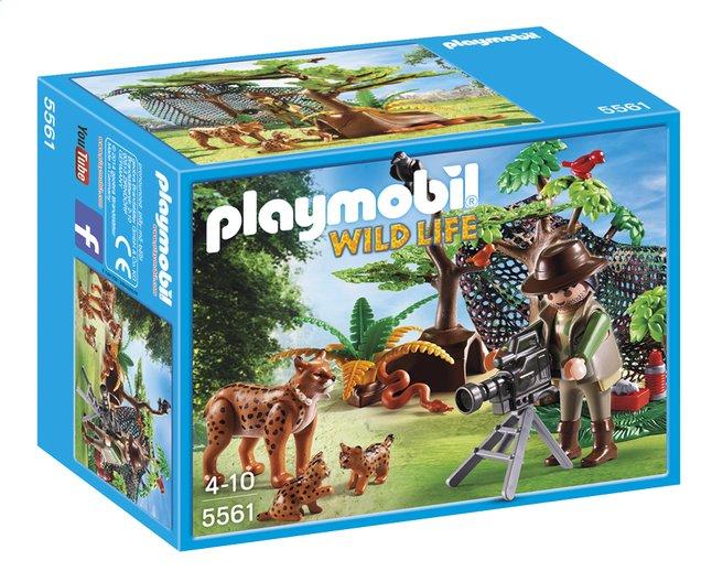 Image pour Playmobil Wild Life 5561 Explorateur et famille de lynx à partir de ColliShop
