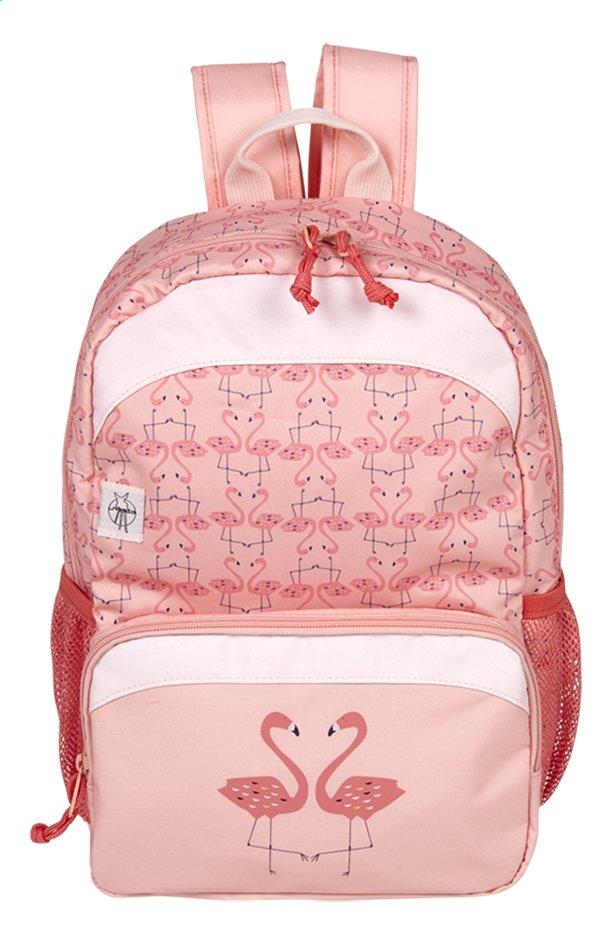 Lässig sac à dos à roulettes Mini Flamant rose