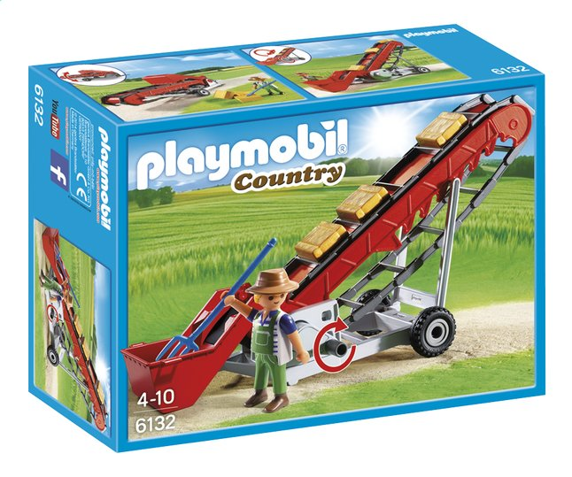 Afbeelding van Playmobil Country 6132 Mobiele transportband from ColliShop