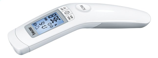 Afbeelding van Beurer Infrarood koortsthermometer No Touch FT90 from ColliShop