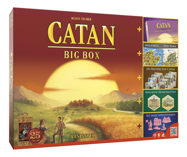 Afbeelding van De kolonisten van Catan Big Box from ColliShop