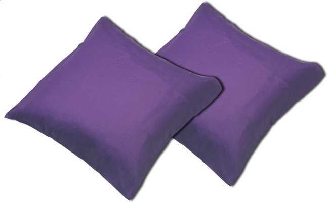 Image pour Sleepnight set de 2 taies d'oreiller mauve à partir de ColliShop