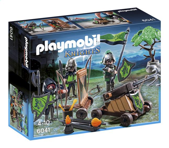 Image pour Playmobil Knights 6041 La catapulte des chevaliers du Loup à partir de ColliShop